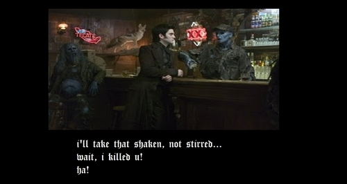 um.... Deathnote, Vampire Knight, and Ghost Rider (more specifically Blackheart) he's SOOOOOOOOO hot!!
