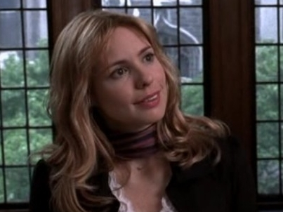 Since my icona is Law & Order: Criminal Intent, I think Nicole Wallace their resident villain would be appropriate.
