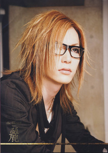 I am Uruha!!!guitarist for The Gazett