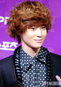 Taemin from SHINee! Love! (it's a dude, da the way.) but, hate, because I could never be with him...*sad*.