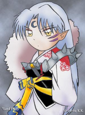 Sesshomaru from Inuyasha ^^