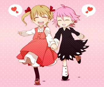 Crona and Maka.