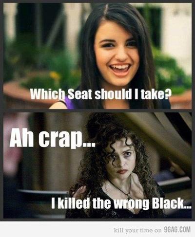 I agree with Bellatrix Lestrange.