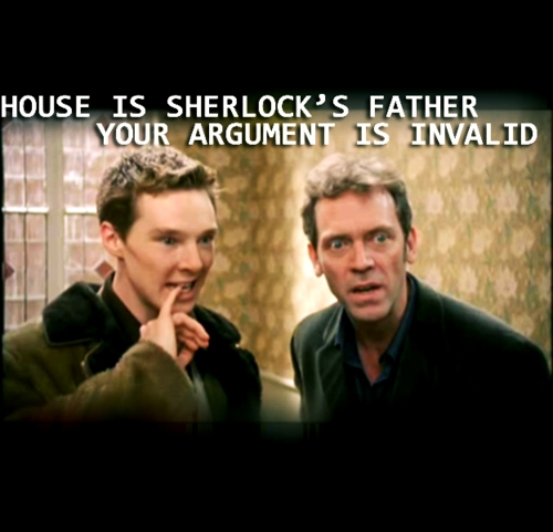 These are my type. Except Benny dressed as Sherlock. XD HIDH