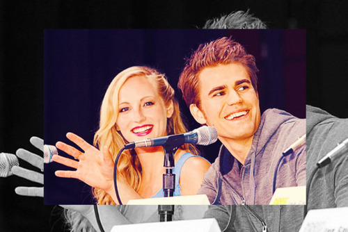Love:Paul Wesley and Candice Accola Hate:Spencer Pratt and Heidi Montag.