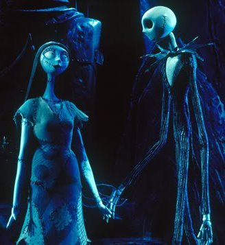 Jack and Sally- Nightmare before Natale