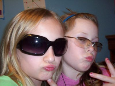 Me and my BFFl krista (im the blonde one)