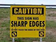 stiupid sign