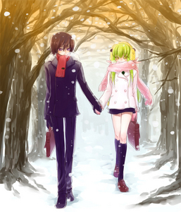 Code Geass Lelouch and C2.