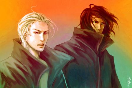 Kakuzu and Hidan :)