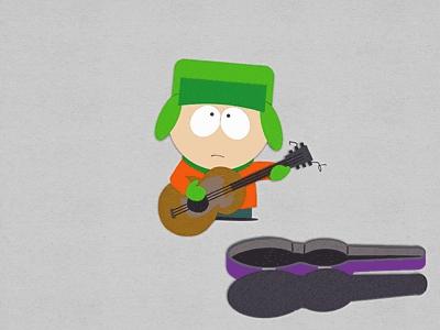 Kyle. <3 XD He's cute, he's nice, he's smart, and he can kick Cartman's asno pretty good. XD