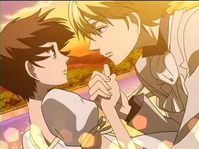 Haruhi and Tamaki from Ouran Host Club