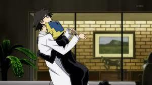 Shinra and Celty from Durarara!! :) pag-ibig these two.