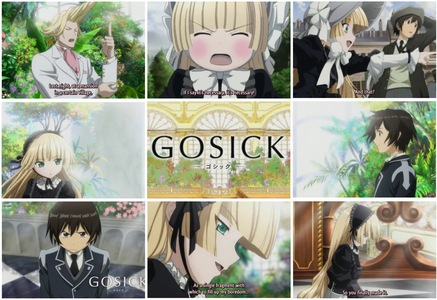 Du can try this: Angel –Jäger der Finsternis Beats! Hakuouki Sengoku Basara Fortune Arterial Durarara!! Hanasaku no Iroha Gosick Just those Titel that i can think right now and most of them are new anime. Hope Du like it :)