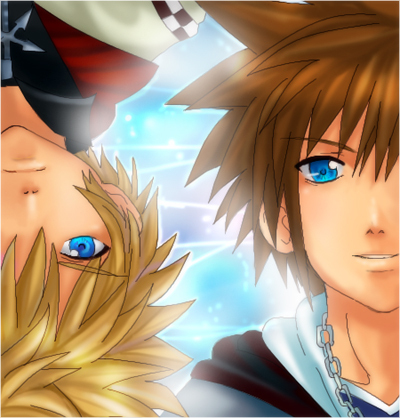 Roxas and Sora from KH