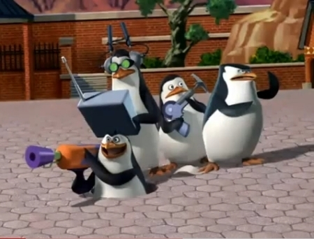 that pick up there is just to CUTE! <3 But my fav penguins are these guys! XD The penguins of Madagascar! the BEST TV Показать about comando penguins EVER!!! XD