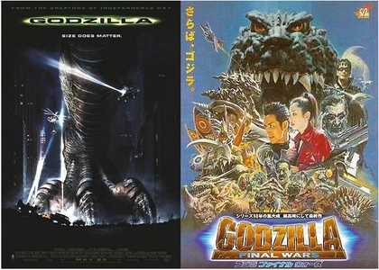 ...... Does the american 1998 movie count? Cause not only was it one of my kegemaran Filem having to do with Godzilla, it was the first movie I saw EVER. If it doesn't, then my kegemaran is Final Wars.