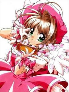 Sakura Kinomoto from Cardcaptor Sakura.