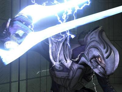 I prefer using Arbiter, only because his default weapons are of the Covenant variety. Not sure if it's true but their own weapons seem to be a bit more effective against Covenant troops.