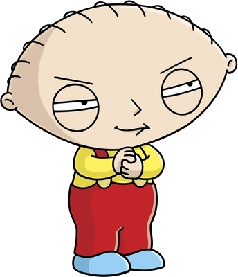 Stewie, he is so cute!