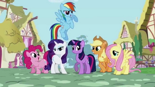 I Любовь My Little Pony: Friendship is Magic! I don't think anypony is too old for it! The ponies are adorable, and it's just fun to watch!