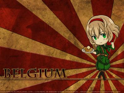 Belgium, from Axis Powers hetalia <3
