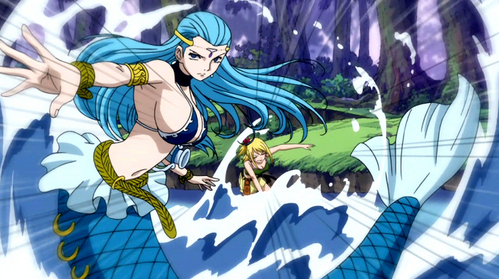 Aquarius from fairytail!!!