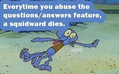 Happy B-day I guess. FYI, you've killed a Squidward and a Patrick.