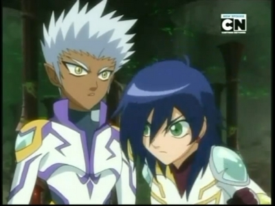 Fabia from Bakugan.She is my favorit character with green eyes.