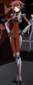 I really like the name Kallen from Code Geass.