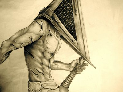 Well sorta: After watching Silent đồi núi, hill I became obsessed with Pyramid Head and the series in general. The end.