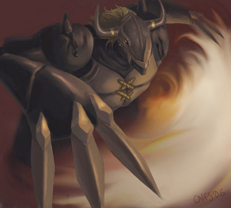 Out of the ones on my laptop, BlackWarGreymon