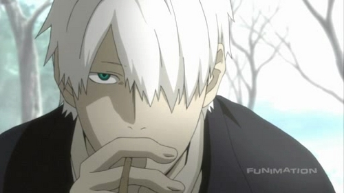 Ginko from Mushi-shi