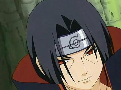 Itachi, this smirk say evil and sexy all in one!