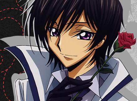 Lelouch From Code Geass Hes Cute And Cool