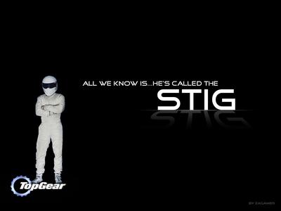 The Stig.