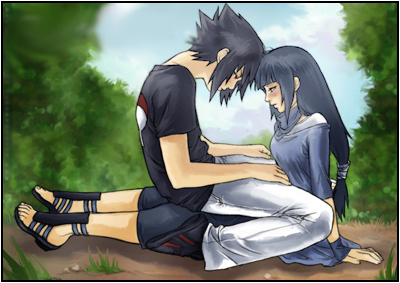 SasuHina <3 yes, I know, I'm weird XD But they look cute together and Sasuke has the Sharingan, and Hinata has the byakugan. I think it's cool ^^;