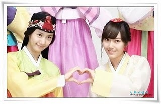 I think it's YoonA & Jessica
