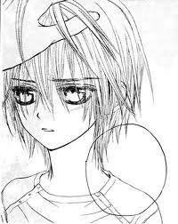 Zero from Vampire Knight >///< ....aw cmon how cant he be cute? o3o ...( He is damn cute ) blushes*