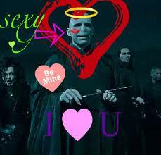 Harry Potter! Check out sexy Voldemort: