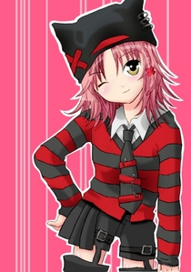 amu is cool stylish a sometimes shy also she has 2 personalities shes like my twin