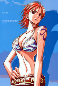 Nami from One Piece :D