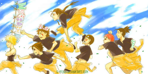 That's right Naruto! Run with those underpants!