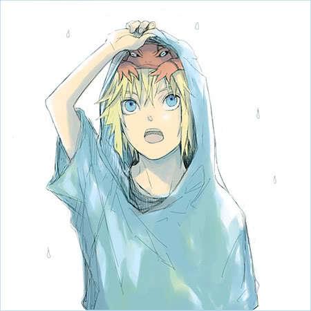 Minato as a kid is sooo cute <3!!