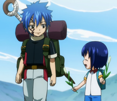 Mistgun and Wendy from Fairy Tail >w<