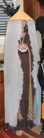 And this was my cusins costume, she was the painted lady:)