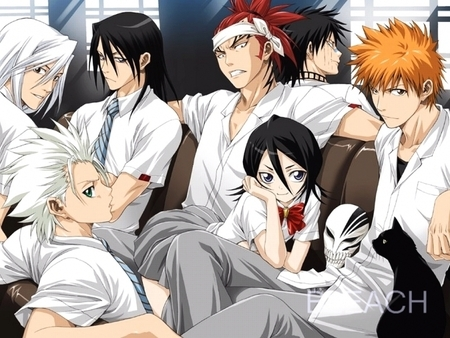 Bleach Rangiku And Ichigo