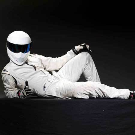 1.The Stig 2.See if he's actually human.