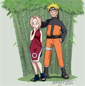Naruto & little Sakura! :D