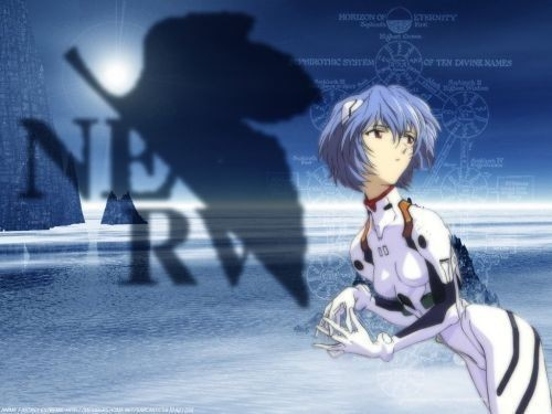 Rei Ayanami from Evangelion There's a club of her in here, too. Keyword: Rei Ayanami. ^^